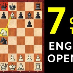 7 Best Chess Opening Traps in the English Opening