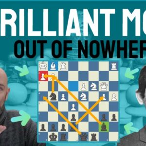 A brilliant move out of nowhere - Leonid Stein's brilliancy prize game