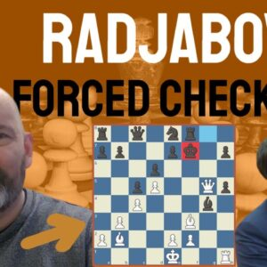A spectacular forced checkmate by Teimour Radjabov