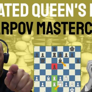 An Isolated Queen's Pawn Masterclass by Anatoly Karpov