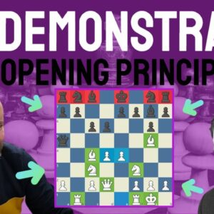 Best chess game to demonstrate chess opening principles - Tal vs Tringov