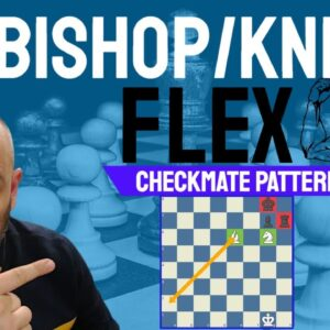 Bishop and Knight Flex - Chess Checkmate Patterns