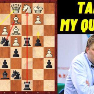 Brilliant Queen Sacrifice by Alexey Shirov! - FIDE Online Olympiad 2020