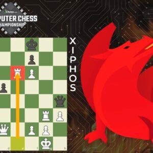 Chess Engine Dragon's 4D Rook Sacrifice