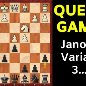 Chess Opening: Queen's Gambit Declined | Janowski Variation