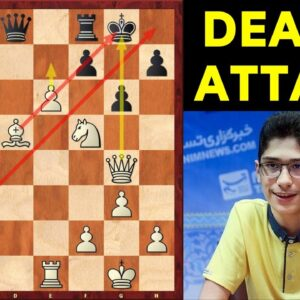 Chess Prodigy Alireza Firouzja's Attacking Masterpiece