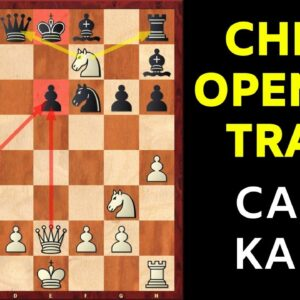 Chess Opening Traps in the Caro-Kann Defense | Two Knights Variation 2.Nf3
