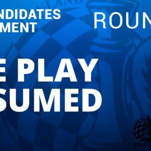 fide candidates tournament resumed round 8