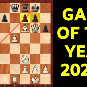 Game of the Year 2020: Dubov vs Karjakin | Greatest Queen Sacrifice