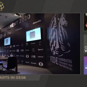 Anand, Hess, and Rensch host FIDE Candidates Round 13 | Coverage presented by Grip6 | !format !grip6