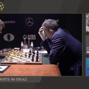 Anand, Hess, and Rensch host FIDE Candidates Round 14 | Coverage presented by Grip6 | !format !grip6