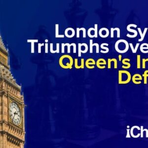 london system triumphs over the queens indian defense