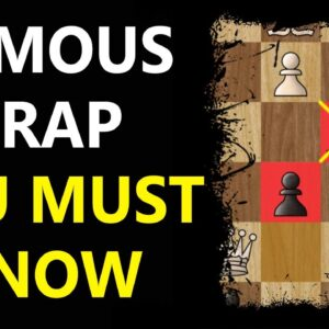 Noah's Ark TRAP | Chess Tricks to WIN Fast #Shorts
