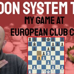 A London System Trap successfully applied - European Club Cup game I played