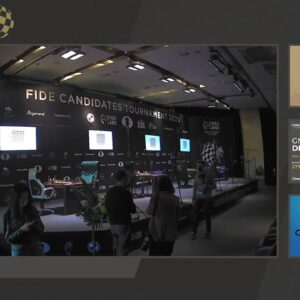 Anand, Hess, and Rensch host FIDE Candidates Round 8 | Coverage presented by Grip6