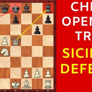 The MOST Dangerous Opening TRAP in the Sicilian Defense