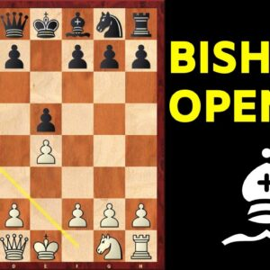 The Unbeatable Bishop's Opening (simple and powerful)