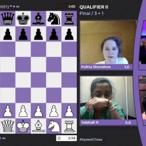 WIM Jesse February and WFM Maria Emelianova host 2021 Women's Speed Chess Championship - Qualifer 2