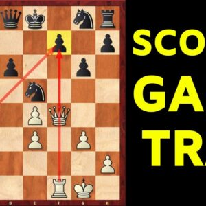Deadly Scotch Game Trap | Hyper-Aggressive Opening for White