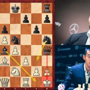 Ding Liren vs Ian Nepomniachtchi | FIDE Candidates 2021