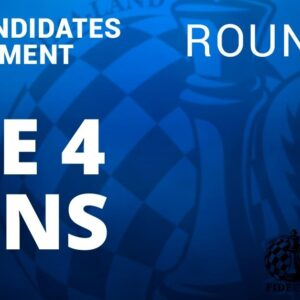 fide candidates tournament the 4 wins round 12