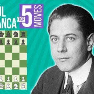 Jose Capablanca's Top Five Endgames
