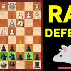 RAT DEFENSE | Easy & TRICKY chess opening for Black