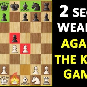King's Gambit Declined: Chess Opening Strategy, Moves & Ideas to WIN More Games