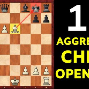 Top 10 Aggressive Chess Openings | The Must-know Tricks