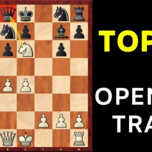 Top 3 Chess Opening TRAPS To Win Fast in Blitz & Bullet