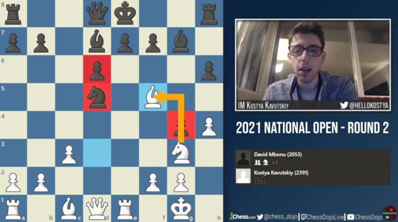 1.Nf3 h6!? | 2021 National Open: Round 2