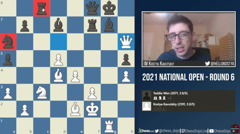A Very Flawed Brilliancy | 2021 National Open: Round 6