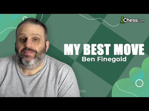 Ben Finegold Breaks Down His Greatest Chess Move
