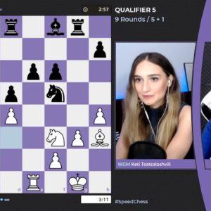 WGM Keti Tsatsalashvili & WFM Alessia Santeramo host 2021 Women's Speed Chess Championship - Qual...