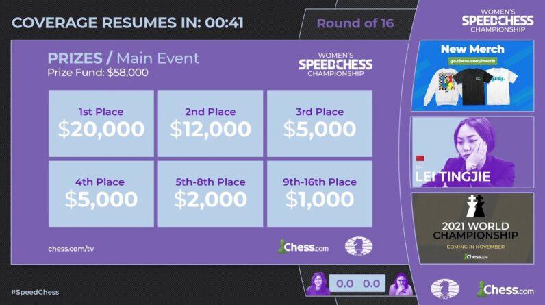 Krush vs Dzagnidze | Women's Speed Chess Championship