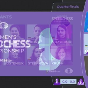 Lagno vs Dzagnidze | Women's Speed Chess Championship | !wscc !format