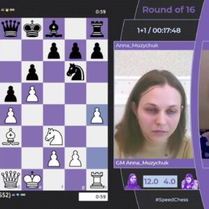 Muzychuk vs Osmak | Women's Speed Chess Championship | !wscc !format