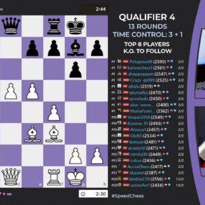 WGM Keti Tsatsalashvili & WFM Alessia Santeramo host 2021 Women's Speed Chess Championship