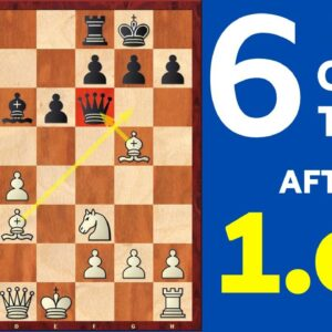 6 Best Chess Opening Traps after 1.e4 | Part-2