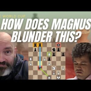 And down goes Magnus! | FIDE World Cup Last 16 tiebreaks
