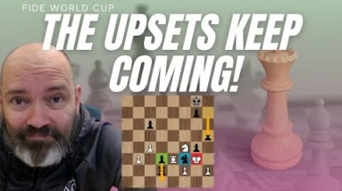 Anish Giri is the latest victim of the Uzbek kids at the World Cup
