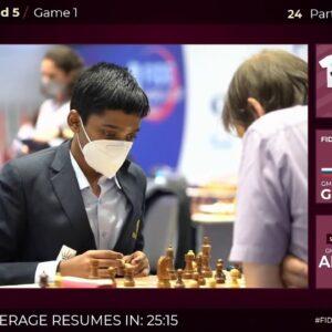FIDE WORLD CUP R5 | Carlsen, Grischuk, Karjakin | Hosts: GM Anand and IM Rensch | !format !wcbracket
