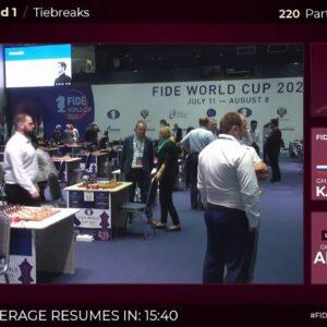 FIDE WORLD CUP: Carlsen, Caruana and Giri | Hosted by Naroditsky and Topalov
