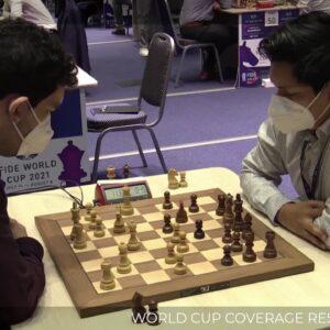 FIDE WORLD CUP | Carlsen, Caruana, Giri | hosts: GM Naroditsky and GM Hou Yifan