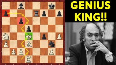 How to use your King in the Endgame? | Mikhail Tal's Genius Idea