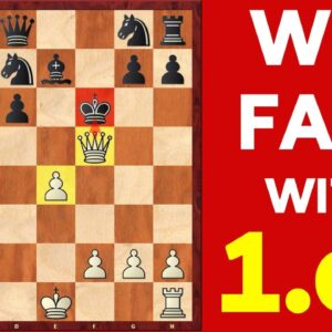 How to WIN Every Chess Game! | Win FAST with 1. e4