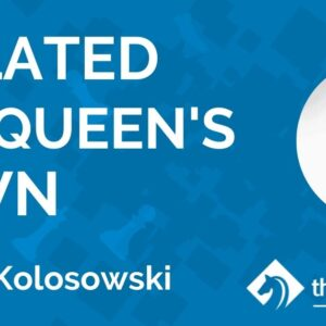 isolated queens pawn with im mat kolosowski tcw academy