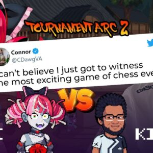 The Chess Match That Trended On Twitter!!!