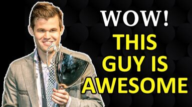 This is Why We Love Magnus Carlsen | Happy International Chess Day :)
