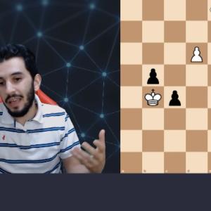 tricky pawn endgames